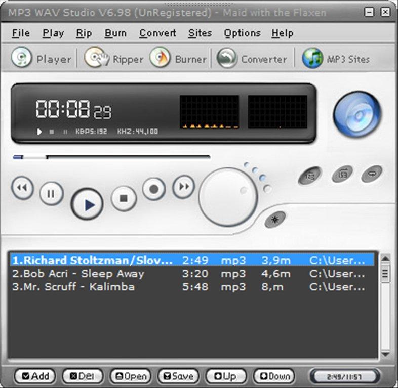 MP3 WAV Studio App Latest Version for PC Windows 10