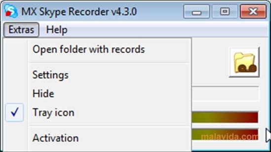 MX Skype Recorder App Latest Version for PC Windows 10