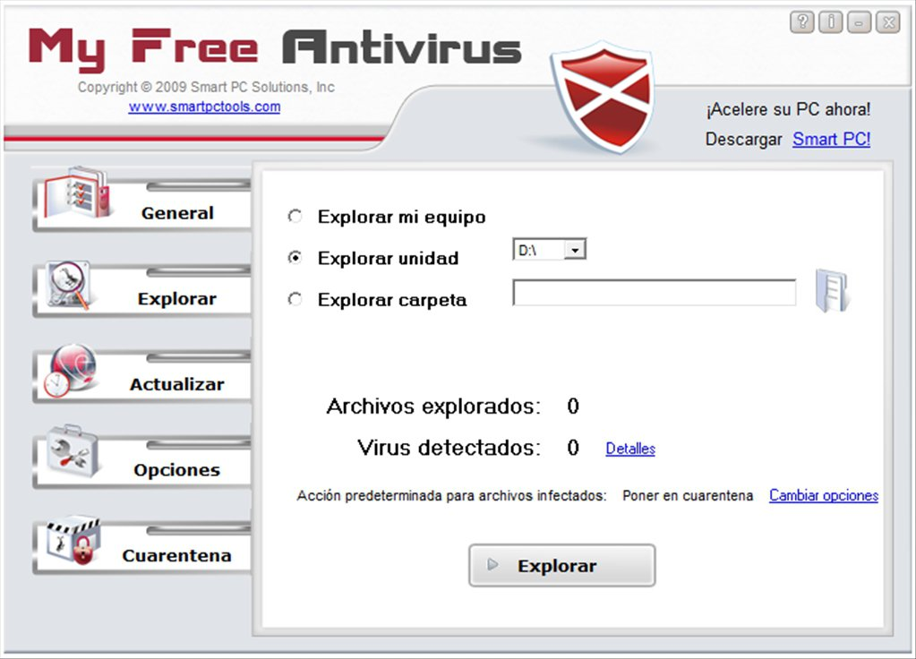 MyFreeAntivirus App Latest Version for PC Windows 10
