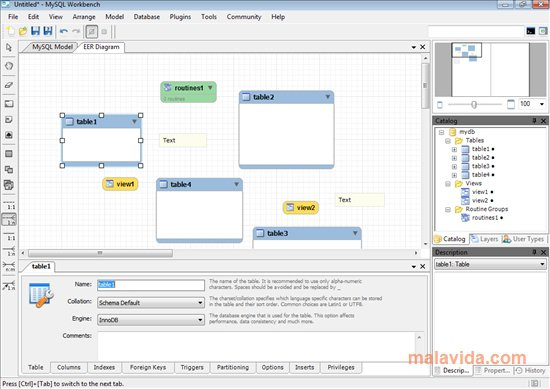 MySQL Workbench App Latest Version for PC Windows 10
