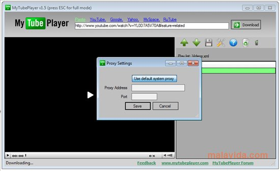 MyTubePlayer App Preview
