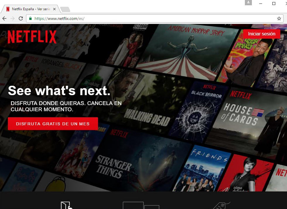 Netflix Chrome