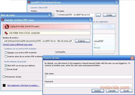 novaPDF Server App Latest Version for PC Windows 10