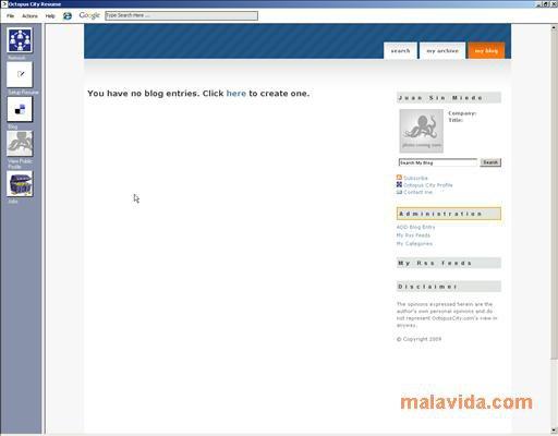 OctopusCity Resume Writer App Latest Version for PC Windows 10