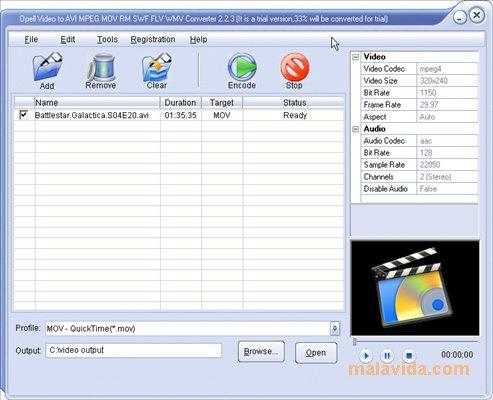 Opell Video Converter App Latest Version for PC Windows 10