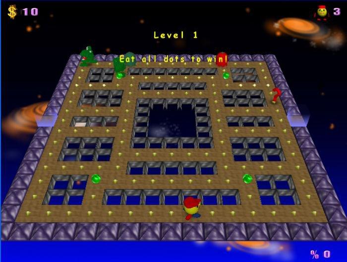 PacMan Adventures 3D App Preview