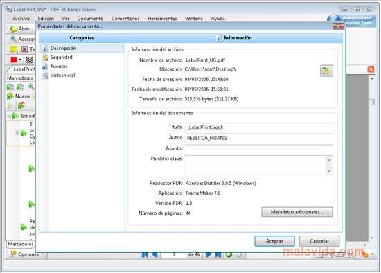 PDF-XChange Viewer App Latest Version for PC Windows 10