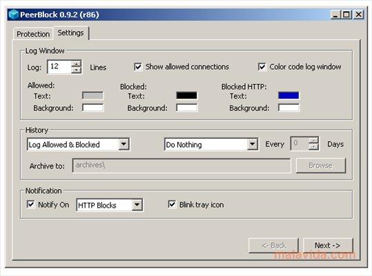 PeerBlock App Latest Version for PC Windows 10