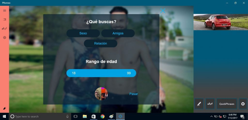 PRomeo App Latest Version for PC Windows 10