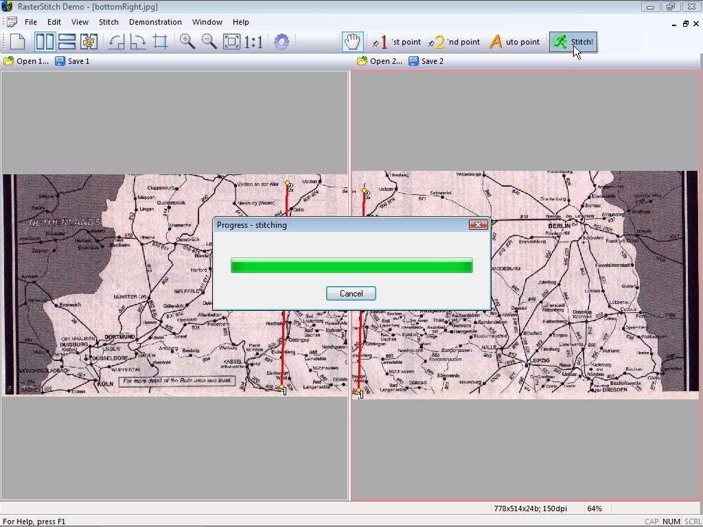 RasterStitch App Latest Version for PC Windows 10