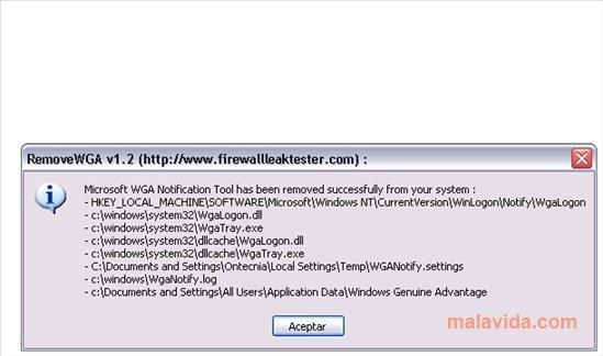 RemoveWGA App Latest Version for PC Windows 10