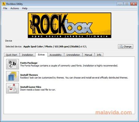 Rockbox App Latest Version for PC Windows 10