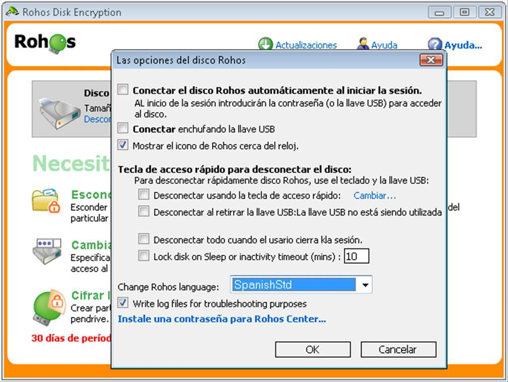 Rohos Disk Encryption App Latest Version for PC Windows 10