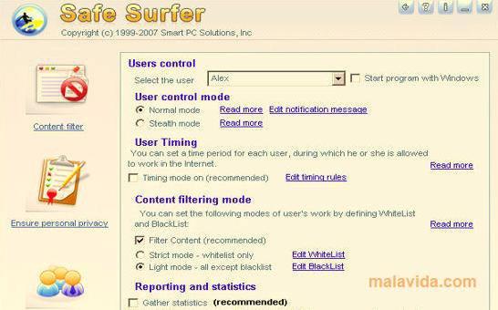 Safe Surfer App Latest Version for PC Windows 10