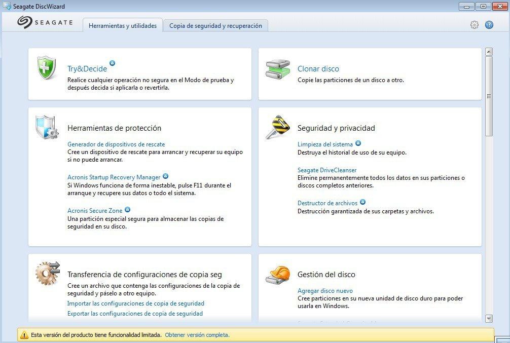 Seagate DiscWizard App Latest Version for PC Windows 10