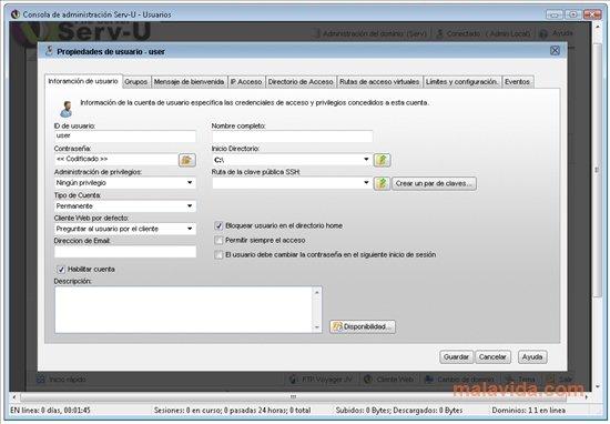 Serv-U App Latest Version for PC Windows 10