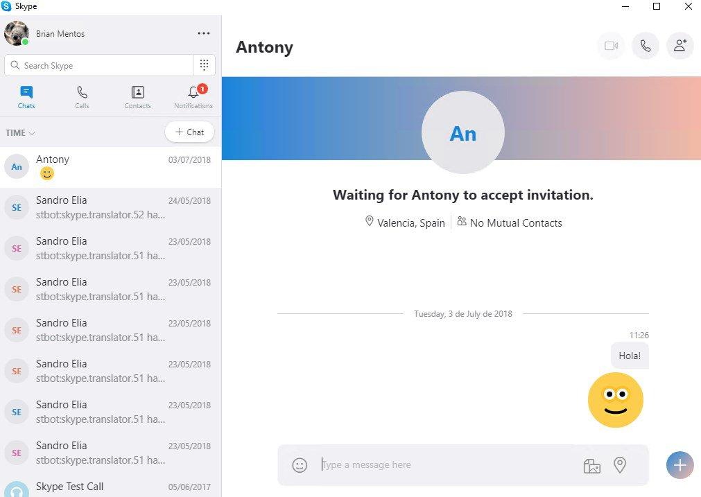 Skype Portable App Preview