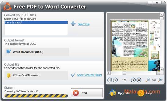 SmartSoft Free PDF to Word Converter App Latest Version for PC Windows 10