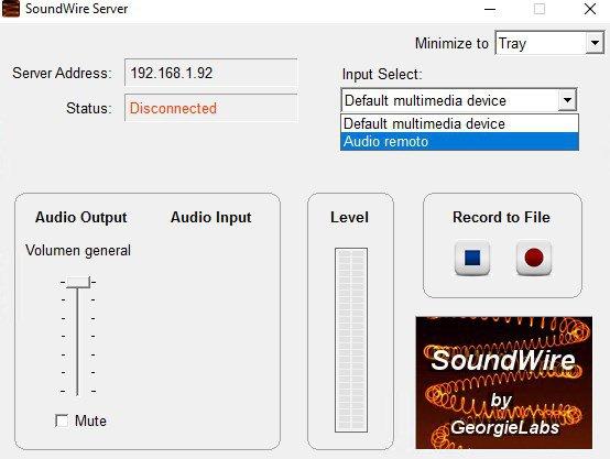 SoundWire Server App Preview