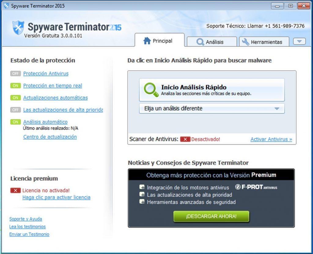 Spyware Terminator App Latest Version for PC Windows 10