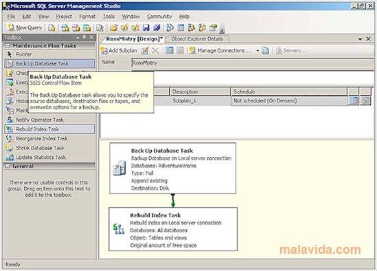 SQL Server 2005 SP2 App Latest Version for PC Windows 10