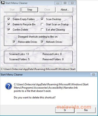 Start Menu Cleaner App Latest Version for PC Windows 10