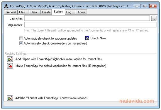 TorrentSpy App Latest Version for PC Windows 10