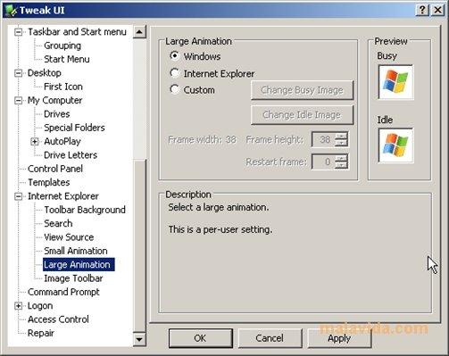 Tweak UI App Latest Version for PC Windows 10