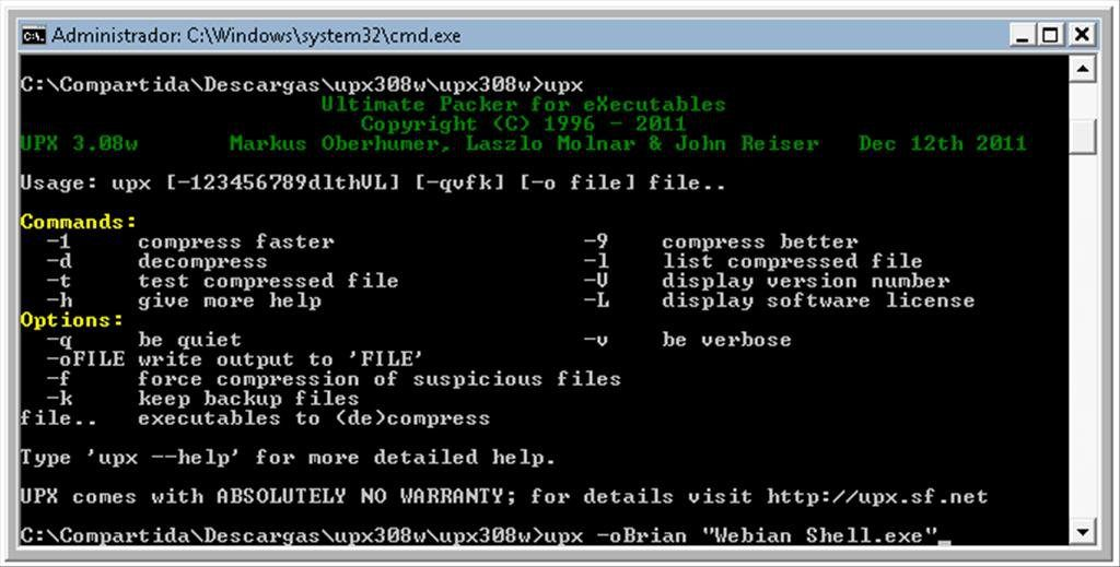 UPX App Latest Version for PC Windows 10