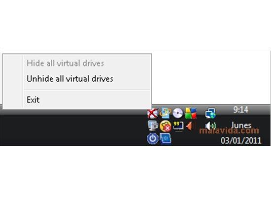 Virtual CD Hide App Preview