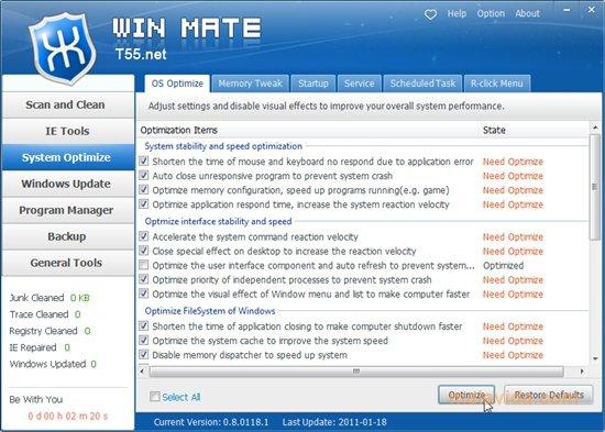 WIN MATE App Latest Version for PC Windows 10