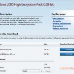 Windows 2000 High Encryption Pack