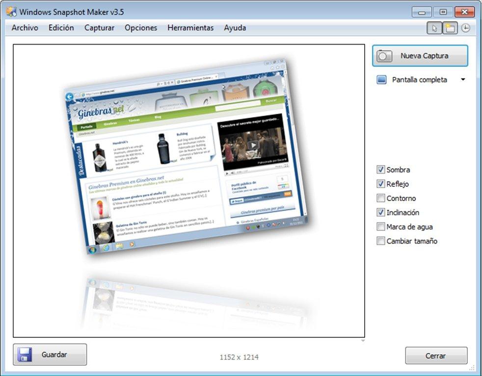 WinSnap App Latest Version for PC Windows 10