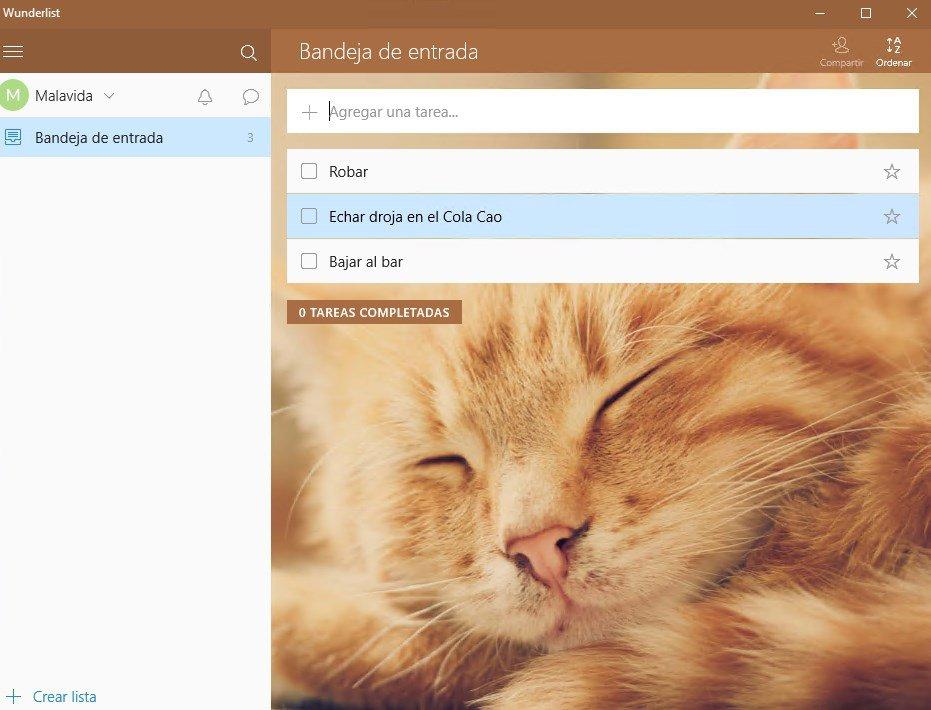 Wunderlist App Latest Version for PC Windows 10