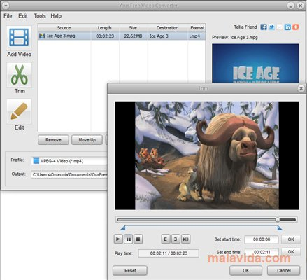 Your Free Video Converter App Preview