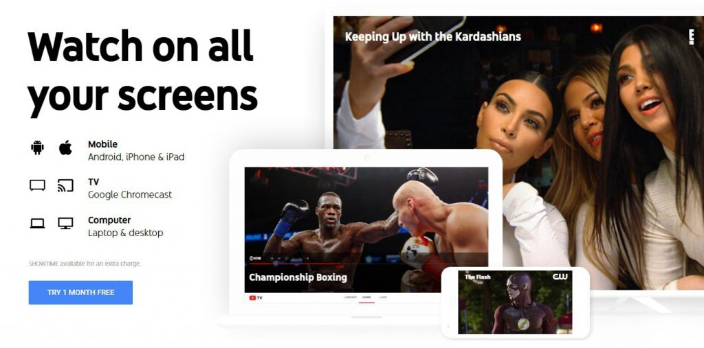 YouTube TV App Preview
