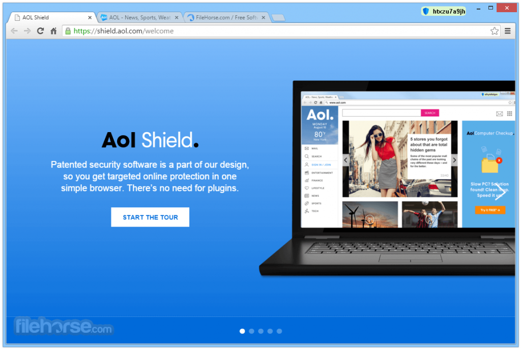 AOL Shield Browser App for PC Windows 10 Last Version