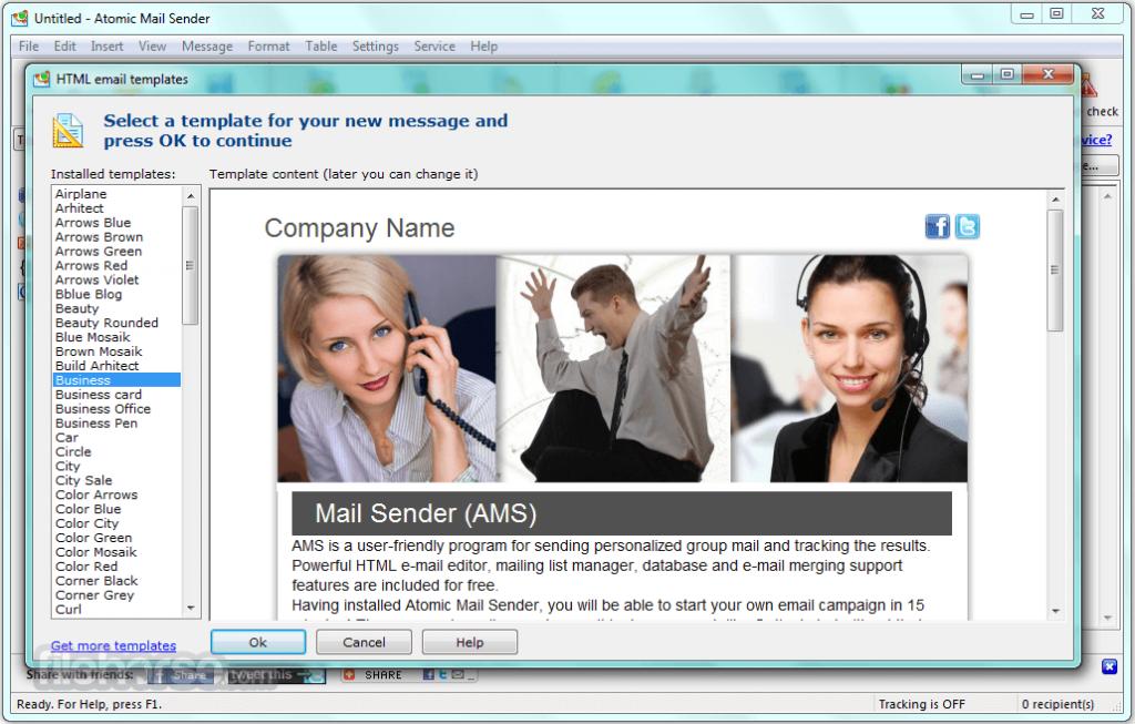 Atomic Mail Sender App for PC Windows 10 Last Version