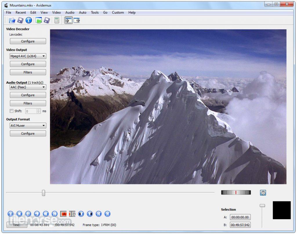Avidemux (64-bit) App for PC Windows 10 Last Version
