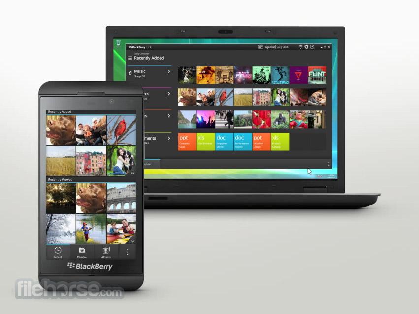 BlackBerry Link App for PC Windows 10 Last Version