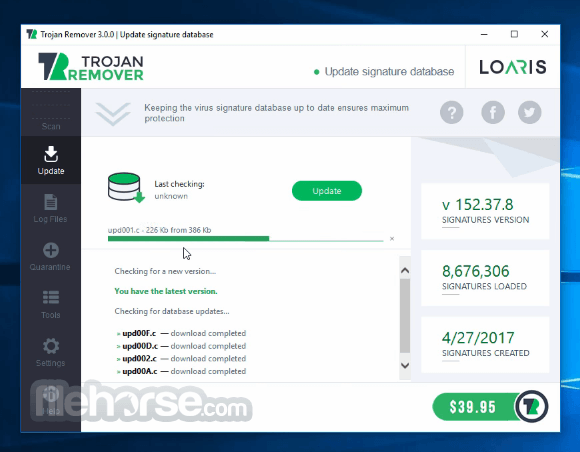 Loaris Trojan Remover App for PC Windows 10 Last Version
