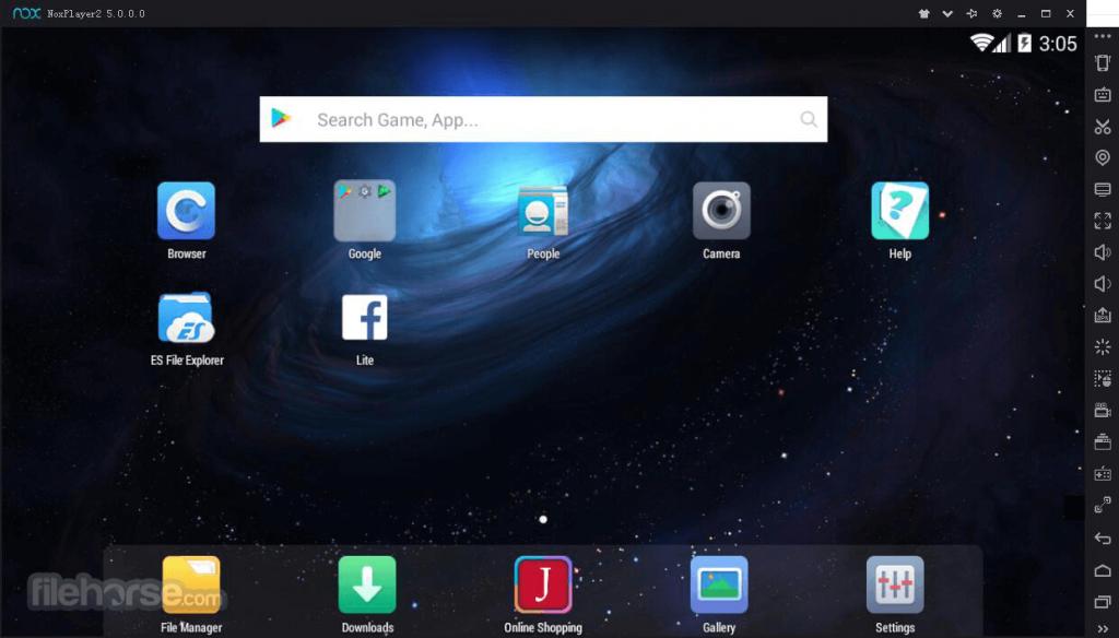 Nox App Player App for PC Windows 10 Last Version