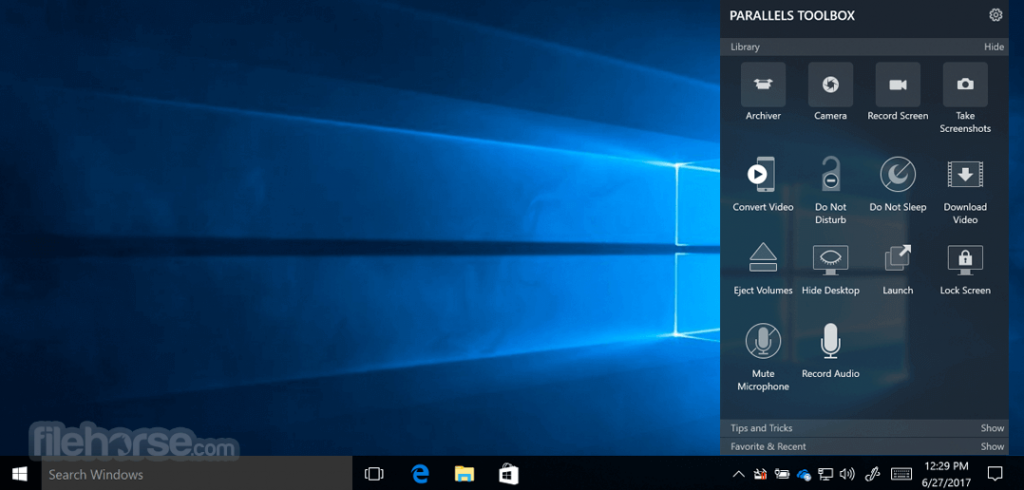 Parallels Toolbox for PC App for PC Windows 10 Last Version