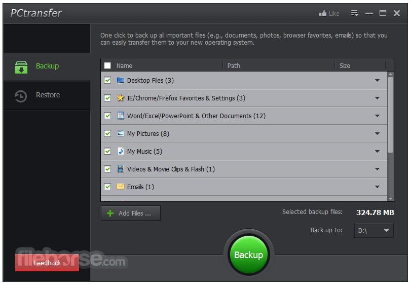PCtransfer App for PC Windows 10 Last Version