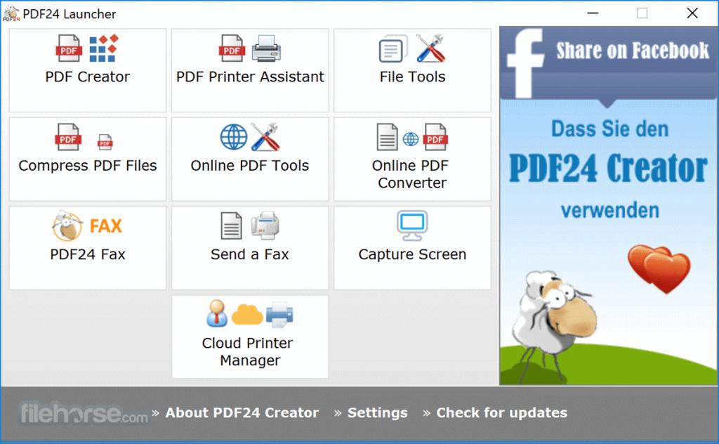 PDF24 Creator App for PC Windows 10 Last Version