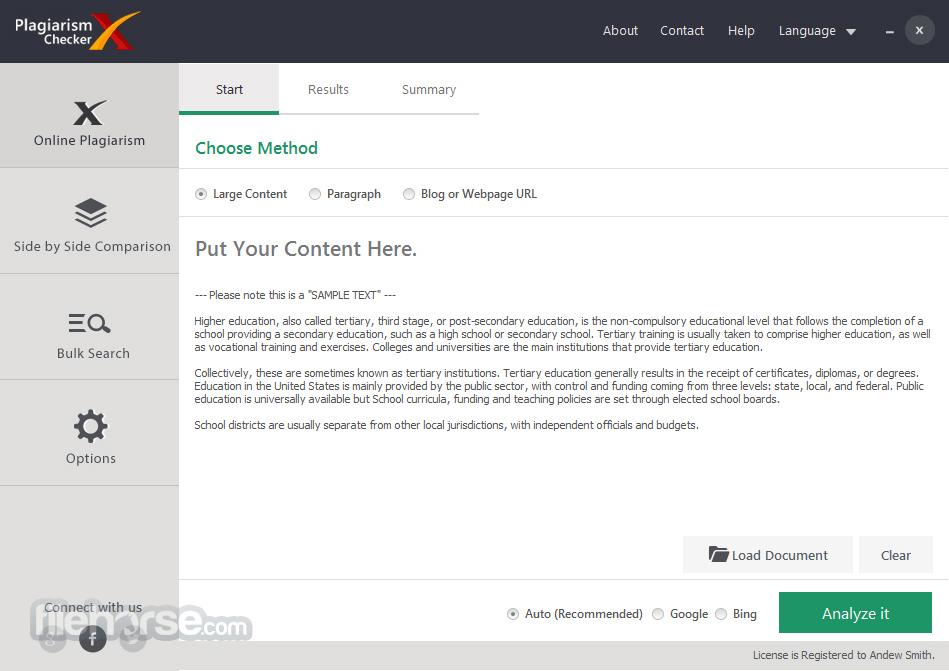 Plagiarism Checker X App for PC Windows 10 Last Version