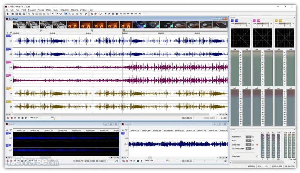 Sound Forge Pro App for PC Windows 10 Last Version