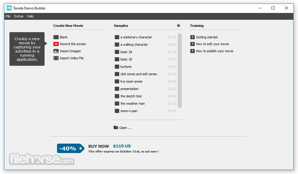 Tanida Demo Builder App for PC Windows 10 Last Version