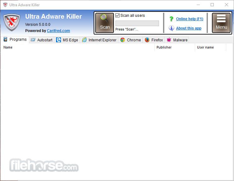 Ultra Adware Killer App for PC Windows 10 Last Version
