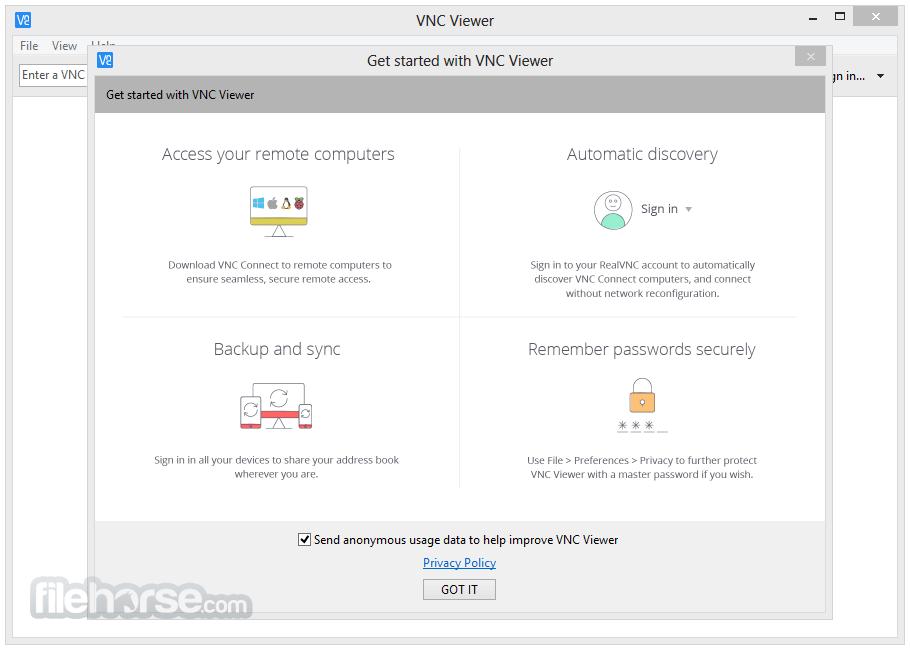 VNC Server App for PC Windows 10 Last Version